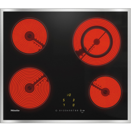 Miele KM6520FR Electric hob with onset controls