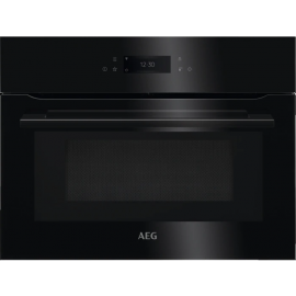 AEG KMK768080B Built In Combination Microwave Oven Black