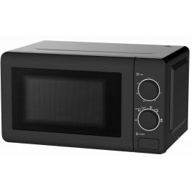 Daewoo Manual Control Microwave, 700 W, 20 Litre Black - KOR6M17BLK