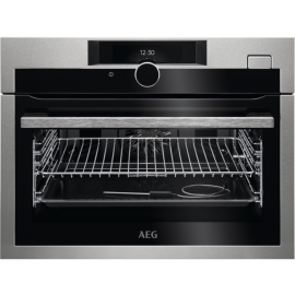 AEG STEAMBOOST COMPACT OVEN KSE882220M