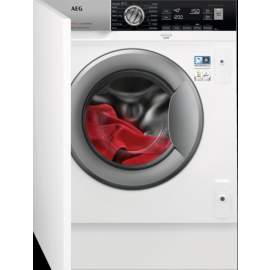 AEG L7FC8432BI 7000 Series Integrated Washing Machine 1400 Spin 8kg