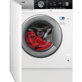 AEG L8FC8432BI 8000 Series Oko Mix Integrated Washing Machine 1400 Spin 8kg