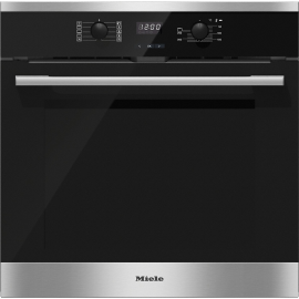 Miele H2561B Single Built In Electric Oven - Stainless Steel