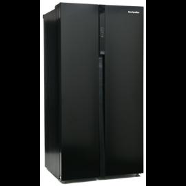 Montpellier M510BK Side-By-Side Fridge Freezer