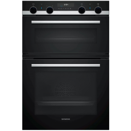 Siemens MB578G5S6B Built In Double Oven Electric - Black / Stainless Steel