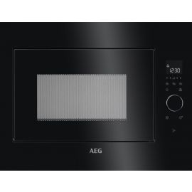 AEG Built In Microwave 26 Litres Black MBE2658SEB