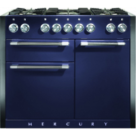 Mercury MCY1082DFBB 1082mm Dual Fuel Range Cooker – BLUEBERRY(display model)