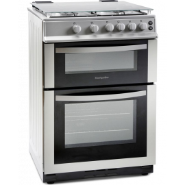 MONTPELLIER MDG600LS 60 cm Gas Cooker - Silver
