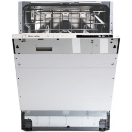 Montpellier MDi605 12-Place Integrated Dishwasher 5 Progs Class E White