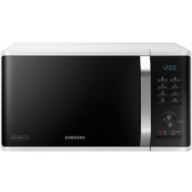 Samsung MG23K3575AW/EU Freestanding Microwave Oven with Heat Wave Grill, 23L