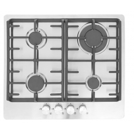 Montpellier MGH61CX 58cm Stainless Steel Gas Hob