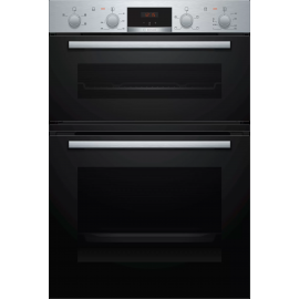 BOSCH Series | 2 Built-in double oven60 cm Stainless steel MHA133BR0B