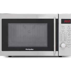 Montpellier MMW21SCS Freestanding Solo 21 Litre Microwave