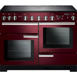 Rangemaster Professional Deluxe 110 Induction Cranberry And Chrome PDL110EICY/C