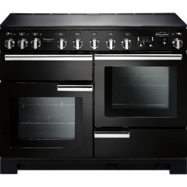 Rangemaster Professional Deluxe 110 Induction Black And Chrome PDL110EIGB/C
