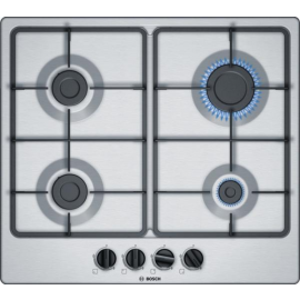 Bosch Series | 4 PGP6B5B60 60 cm, Hob, Stainless Steel