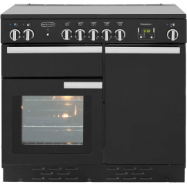 Rangemaster Professional Plus 90 Ceramic Black And Chrome PROP90ECGB/C