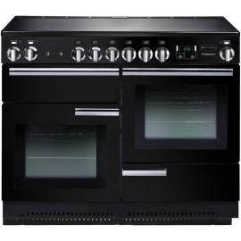 Rangemaster Professional Plus 110 Induction Black And Chrome PROP110EIGB/C