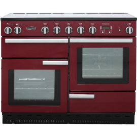 Rangemaster Professional Plus 110 Induction Cranberry And Chrome PROP110EICY/C