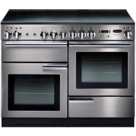 Rangemaster Professional Plus 110 Induction Stainless Steel And Chrome PROP110EISS/C