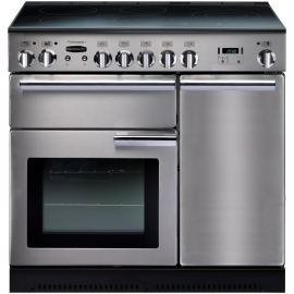 Rangemaster Professional Plus 90 Induction Stainless Steel And Chrome PROP90EISS/C