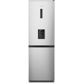 HISENSE RB395N4WC1 60/40 Fridge Freezer – Stainless Steel, Stainless Steel