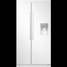 Samsung RS52N3313WW American Fridge Freezer Non Plumbed Water Dispenser - White