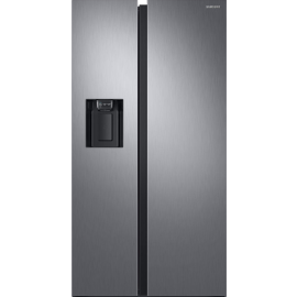 Samsung RS68N8240S9 Frost Free American Fridge Freezer Plumbed Ice & Water Matt Silver