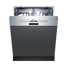 NEFF N 50, SEMI-INTEGRATED DISHWASHER, 60 CM, STAINLESS STEEL S145ITS04G