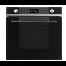 SMEG Linea Multifunction Oven SF6102TVN Black Glass