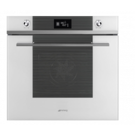 SMEG Linea Multifunction Oven SF6102TVB White Glass