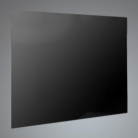 Luxair SP100BG 100cm Black Glass Splashback