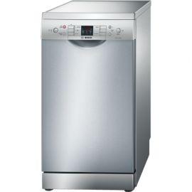 BOSCH Serie | 6 SPS53M08GB Silver ActiveWater Slimline Dishwasher 45cm Freestanding