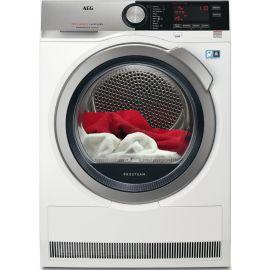 AEG 8000 Series T8DEC946S 9kg Heat Pump Condenser Dryer