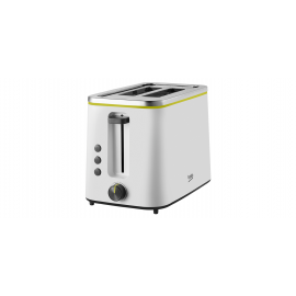 Beko TAM4321W 2 Slice Toaster - White