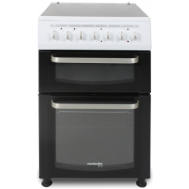 Montpellier Eco TCC60W 60cm Twin Cavity Electric Cooker