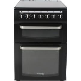 Montpellier TCC60BK 60cm Electric Twin Cavity Cooker