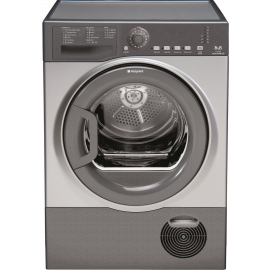 HOTPOINT AQUARIUS TCFS83BGG TUMBLE DRYER GRAPHITE
