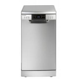 Teknix Freestanding Slimline Dishwasher, 9 Place Settings, In Silver - MODEL: TFD455S