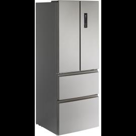 Teknix TFD70180S American Fridge Freezer - Stainless Steel