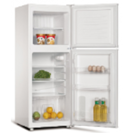Teknix TM1148W Top Mount Freestanding Fridge-Freezer White