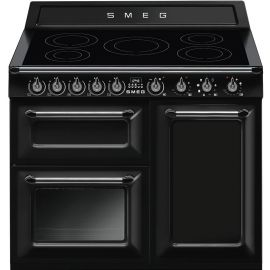 """SMEG TR103IBL 100cm """"Victoria"""" Traditional 3 cavity Cooker with Induction hob"""