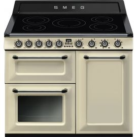 """SMEG TR103IP 100cm """"Victoria"""" Traditional 3 cavity Cooker with Induction hob"""
