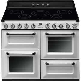 """SMEG TR4110IWH 110cm """"Victoria"""" Traditional 4 cavity Cooker with Induction Hob"""