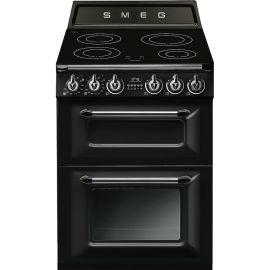 Smeg TR62IBL 60cm Freestanding Black Electric Cooker