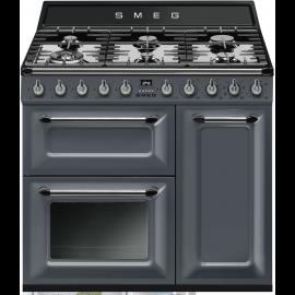 Smeg Victoria 90cm Range Cooker Slate Grey TR93GR