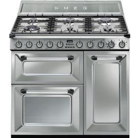 Smeg TR93X 90cm Dual Fuel Range Cooker