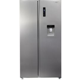 Teknix TSBSW911772S American Fridge Freezer With Water Dispenser S/S