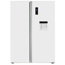 Teknix TSBSW911772W American Fridge Freezer With Water Dispenser White