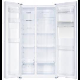 Teknix TSBSW91177W American Fridge Freezer With Water Dispenser White